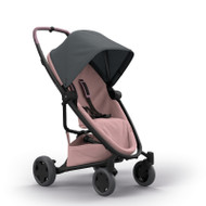 Quinny Zapp Flex Plus + Lux Carrycot + Pebble Plus + Changing Bag - Graphite on Blush