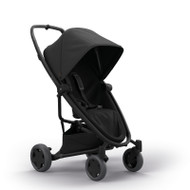 Quinny Zapp Flex Plus + Lux Carrycot + Pebble Plus + Changing Bag - Black on Black