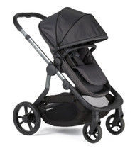 iCandy Orange Pushchair+Carrycot+Seat Unit+Seat Liner+2 Canopies+Elevators+Raincover+Car Seat Adaptors - Carbon
