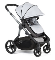iCandy Orange Pushchair+Carrycot +Seat Unit+2Canopies+Elevators+Raincovers+Car Seat Adaptors - Mercury