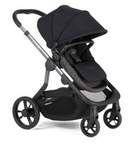 iCandy Orange Pushchair+Carrycot +Seat Unit+2Canopies+Elevators+Raincovers+Car Seat Adaptors - Noir