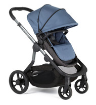 iCandy Orange PushchairCarrycot +Seat Unit+2Canopies+Elevators+Raincovers+Car Seat Adaptors - Topaz