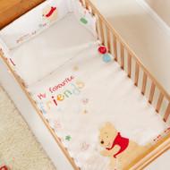 Obaby Disney Winnie The Pooh Quilt & Bumper Set - White