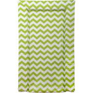 East Coast Chevrons Changing Mat - Lime