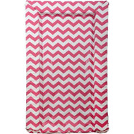 East Coast Chevrons Changing Mat - Raspberry