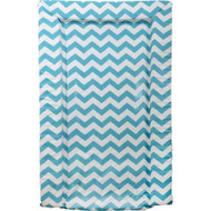 East Coast Chevrons Changing Mat -  Turquoise