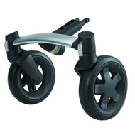 Quinny Buzz 4 Front Wheel Unit - Silver