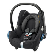 Maxi Cosi Cabriofix - Black Raven With Free Sun Shade & Rain Cover