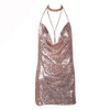 SHOW MY BODY SEQUIN DRESS { SILVER }