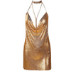 SHOW MY BODY SEQUIN DRESS { ROSE GOLD }