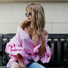 elegant off shoulder sexy blouses shirt - palaceofchic