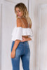 off Shoulder Camis Crop Top - palaceofchic