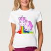 Funny Unicorn Rainbows T-Shirt - palaceofchic