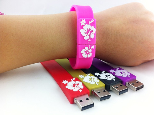 USB bracelet Flash Drive pen drive 4GB 8GB 16GB 32GB 64GB