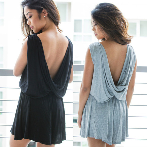 BLACK NIGHT PLAYSUIT
