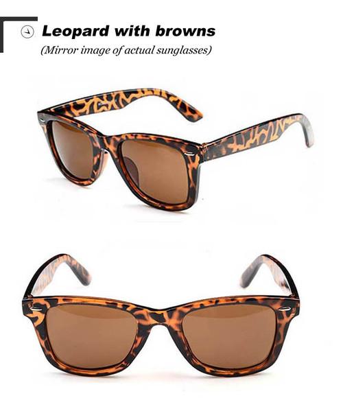 Vintage Classic sun glasses LEOPARD