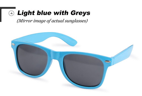 Vintage Classic sun glasses LIGHT BLUE