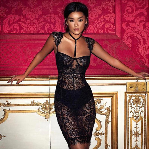 SO SEXY LACE DRESS - palaceofchic