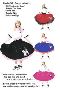 Poodle Skirt Combo Kids