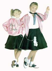Pink Lady Youth Costume