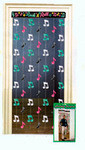 Music Note Doorway Curtain Party Decoration