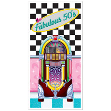 Jukebox Door Cover Fab 50s