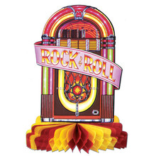 Jukebox Rock & Roll Centerpiece