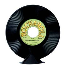 Record Centerpiece Plastic 45 RPM Replica