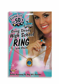 High School Ring on a Chain