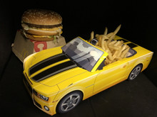 Modern Car Food Box Centerpieces