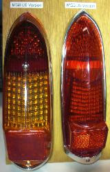 US Style 62-69 LED Tail Light Kit