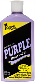 California Custom Purple Metal Polish