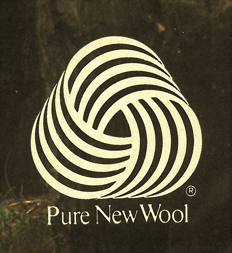 Hard Working Wool! Do you remember the Woolmark?