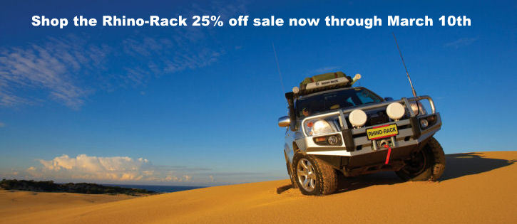 rhino rack sale banner