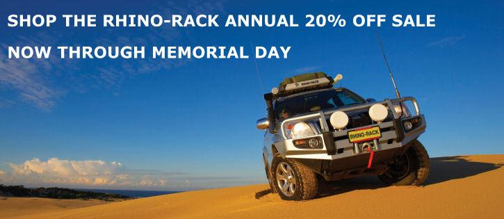 rhino rack memorial day sale