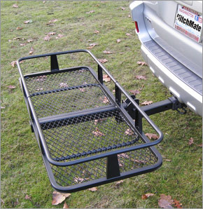 HitchMate Hitch Mounted Cargo Basket