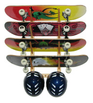 Del Sol Skateboard Storage Rack