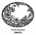 Sue Wilson Stamps To Die For - FLORAL PARADISE UMS572  - 10% Off FREE POSTAGE Pre-Order