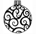 Sue Wilson Stamps To Die For - SWIRLY BAUBLE UMS533 - 10% Off FREE POSTAGE Pre-Order