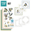 Stitch and Do 7 Card Embroidery Kit - Spring