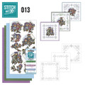Stitch and Do 13  Card Embroidery Kit - Birdhouses