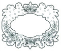 Sue Wilson Cling Mounted Stamps - Floral Garland - Pre-Order 10% Off