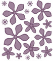 Sue Wilson Finishing Touches Orange Blossom-Complete Petals Die  CED1445 - Pre-Order 15% Off
