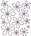 Sue Wilson Finishing Touches Orange Blossom-Open Petals Die  CED1446 - Pre-Order 15% Off