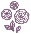 Sue Wilson Finishing Touches Blushing Rose Die  CED1448 - Pre-Order 15% Off