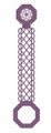 Sue Wilson Finishing Touches Scalloped Lattice Buckle Bar Die  CED1453 - Pre-Order 15% Off