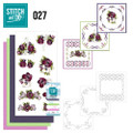 Stitch and Do 27 - Card Embroidery Kit - Flowers