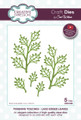 Sue Wilson Finishing Touches Laced Edged Leaves Die CED1456 - Pre-Order 15% Off