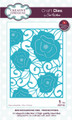 Sue Wilson - Mini Background Collection - Pierced Roses Die CED7102 - Pre-Order 15% Off