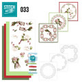 Stitch and Do 33 - Card Embroidery Kit - Roses